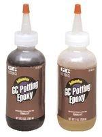 GC ELECTRONICS 19-823 POTTING EPOXY KIT, BLACK, 2 BOTTLES, 4OZ