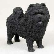 Black Original Dog Figurine (Chow, Black Original Dog Figurine (4in-5in))