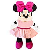 Minnie Disney Mouse Plush -- Deluxe Large 15 Inch Mouse Plush Puppet Toy (Officially ()