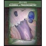 Algebra and Trigonometry, Banks, John A., 0534382673