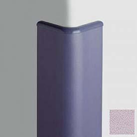 Corner Guard Bullnose 90, 3'' Wings, 8'H W/Caps, Lavender Heather
