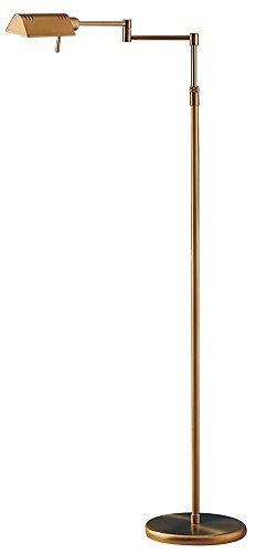Halogen Pharmacy Floor Lamp - Holtkoetter 6317 AB Classic Halogen Floor Lamp, Antique Brass