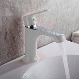 River Basin Spigot - Household Color Bath Kitchen Basin Faucet Cold Hot Water Tap Green Orange White - Bowl Tapdance Hydrant Trough - 1PCs ()