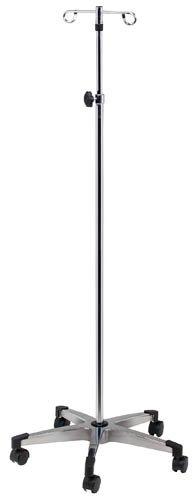 IV Stands/Poles - 2-Hook Knob Lock, 5-Leg