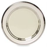 Lenox Engagement Platinum Banded Ivory China Butter Plate