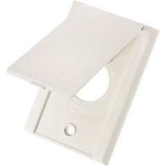 Nutone White Standard Vac Inlets, Appliances for Home
