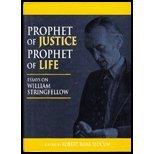 Prophet of Justice, Prophet of Life 9780898692693
