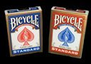 72 New Decks Bicycle, Rider Back Poker Playing Cards, Regular Index, 36 Red 36 Blue Back