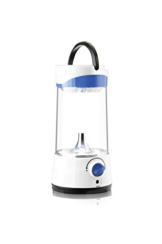 Pigeon Plastic Solar LED Lamp Helios(White and Blue)