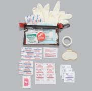 Soft-Sided Personal First Aid Kits - Case of 6
