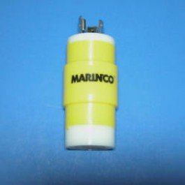 Marinco 84A Marine Electrical Shore Power Straight Adapte...