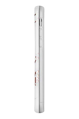 LuMee Duo Phone Case, Rose White Marble | Front & Back LED Lighting, Variable Dimmer | Shock Absorption, Bumper Case, Selfie Phone Case | iPhone XR Only by LuMee (Image #2)