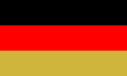 magFlags Large Flag West Germany; Flag of East Germany 1949?1959 ; Flag of Germany 1990?1999 | West Germany and of Germany from 1990 to 2 June 1999, in an unusal version displaying Gold or as g