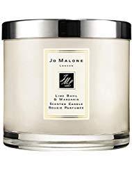 - Jo MaloneTM Lime Basil & Mandarin Deluxe Candle 600g