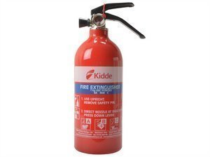 LS1KG 1Kg Multi-purpose Fire Extinguisher. New Product replaces older 1kg versions kidde