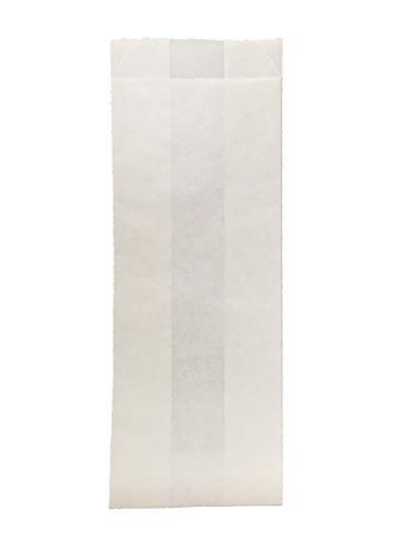 (Durable Packaging White Hotdog Bag, 3