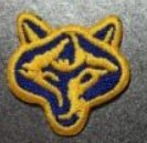 Cub Girl Boy Wolf Head Embroidered Iron-On Fun Patch Crests Badge Scout Guides