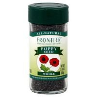 Frontier Herb Whole Poppy Seed, 16 Ounce - 6 per case by Frontier