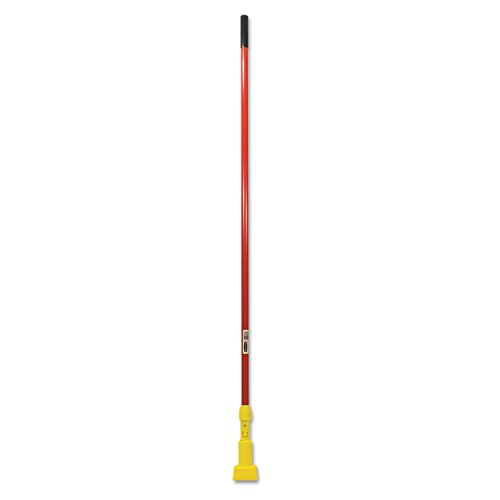 "Rubbermaid Commercial Gripper Mop Handle, 60"", Red, FGH24600RD00"