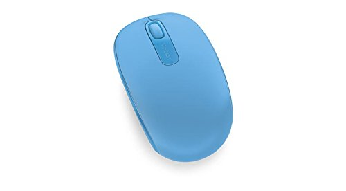 Microsoft Wireless Mobile Mouse 1850 - Cyan Blue (U7Z-00055)