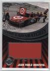 Juan Pablo Montoya #39/120 (Trading Card) 2009 Wheels Main Event - Stop & Go Swatches - Pit Sign #SGS-JPM