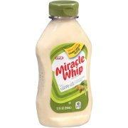 Kraft Miracle Whip Dressing Olive Oil Reduced Fat, 12 FL OZ (354ml) (Kraft Fat Free Mayonnaise)