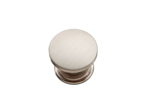 Hickory Hardware P2142-SS 1-3/8-Inch American Diner Cabinet Knob, Stainless Steel (American Diner Cabinet)