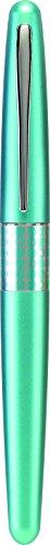 Pilot MR Retro Pop Collection Fountain Pen, Turquoise Barrel with Dots Accent, Fine Nib, Black Ink (91436) by Pilot (Image #2)