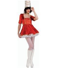 Rubie's Women's Toy Soldier Costume Dress, Multicolor, Medium by Rubie's