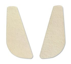 HAPAD Posting Heel Wedges, 5 degrees, case of 12 by HAPAD