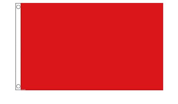 Plain Red 8/'x5/' Flag