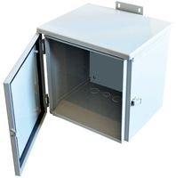 Metal Enclosure, Hinged Cover, Wall Mount, Steel, NEMA 3R, 305 mm, 305 mm