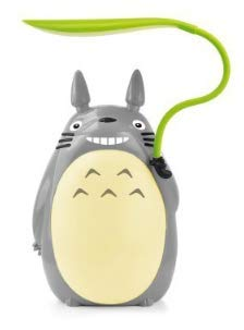 Totoro Leaf LED Night Light [White, Green], Children Reading Night Light, Night Desk lamp, USB Power Supply (Green Belly)