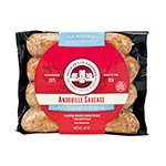 A juicy and well-seasoned sausage, made with pork, garlic, and chili peppers. This Andouille from Les Trois Petits Cochons is perfect for gumbo, jambalaya, or cooking with greens or rice. Les Trois Petits Cochons' sausage is fully cooked. Gr...