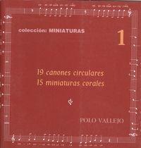 Download 19 canones circulares, 15 miniaturas corales PDF