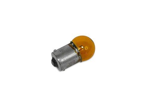 piccolo vetro pistone giallo BA15S Lampadina 12/V 21/W * *
