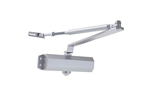 Door Closer,Adjustable Spring Hydraulic Auto Door-Closers for Door Weight 187 Pounds with Easy Fitting Instruction