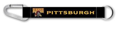 (MLB Pittsburgh Pirates Carabiner Lanyard Keyring)
