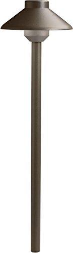 Kichler 15821AZT Llenita LED Path, Textured Architectural Bronze