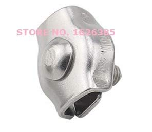 Ochoos M2-M3 304 stainless steel simplex steel wire rope clip single clamp rigging hardware - (Size: M3)