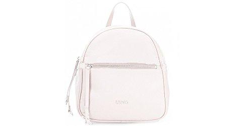 liu jo - Bolso mochila  de cuero sintético para mujer gris gris luminoso (ral 7035)