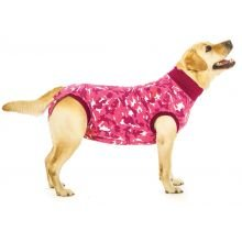 Suitical Recovery Suit for Dogs - Pink Camo - Size X-Large
