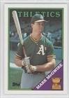 Mark Mcgwire Card - 1988 Topps Baseball Card #580 Mark McGwire Mint