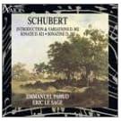 Schubert: Introduction & Variations D. 802 / Sonate D. 821 / Sonatine D.385