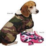 Tough S@#t Costumes (Zack & Zoey Camo Tough Pet Barn Coat, Small/Medium, Pink)