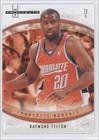 - Raymond Felton Charlotte Bobcats (Basketball Card) 2007-08 Fleer Hot Prospects #54