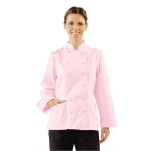 Ladies Pink Santiago Chef Jacket: Amazon.co.uk: DIY &amp Tools