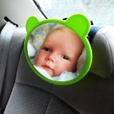 Baby Mirror - Car Seat Mirror Auto Safety Protect Child - Adjustable Pivotal Backseat Rear Facing Baby View Mirror