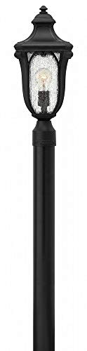 (Hinkley 1317MB Transitional One Light Post Top/ Pier Mount from Trafalgar collection in)