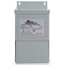 Acme Electric T181051 Buck-Boost Transformer, 1 Phase, 60 Hz, 0.50 kVA, 120 x 240V Input, 12/24V Output, Steel